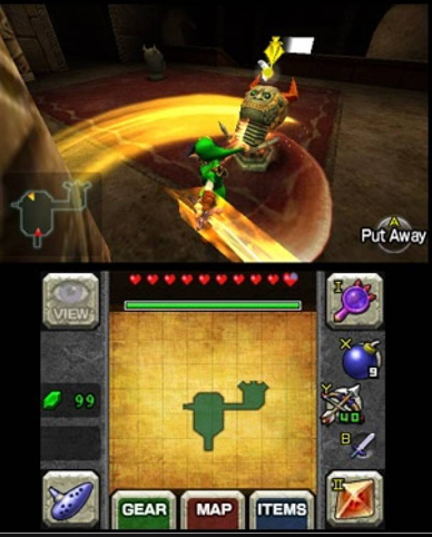 Zelda on Nintendo 3DS Emulator